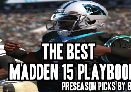 best madden 15 playbooks