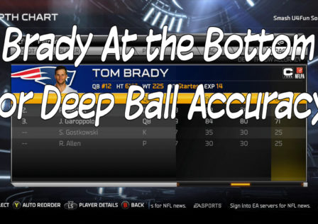 madden 15 deep ball accuracy