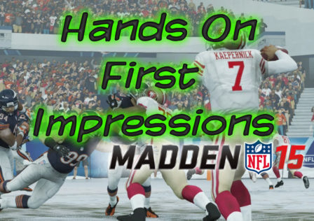 madden 15 gameplay