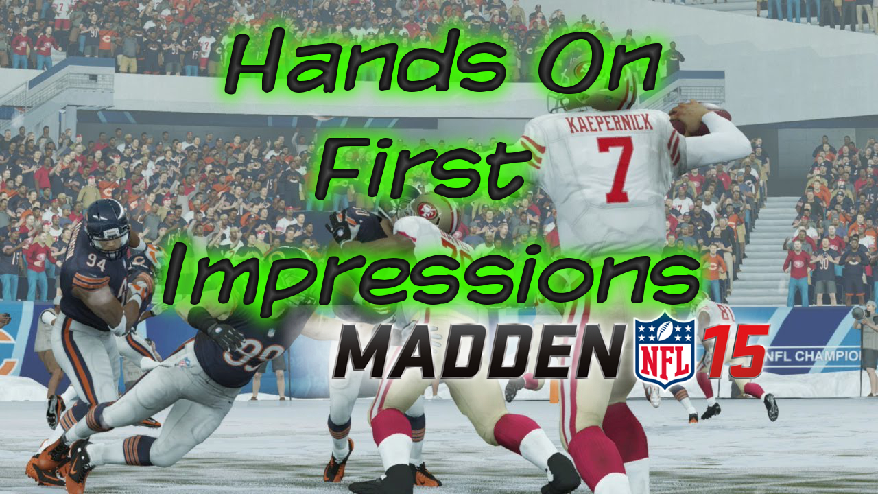 madden 15 gameplay