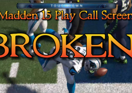 madden 15 play call screen broken