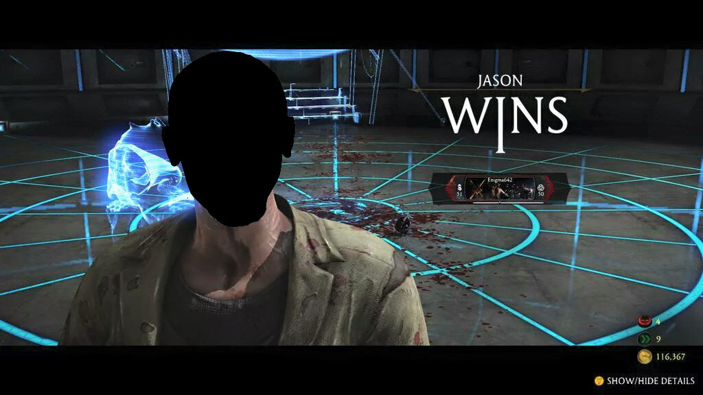 Hacker captures jason without his mask mortal kombat x gaming with