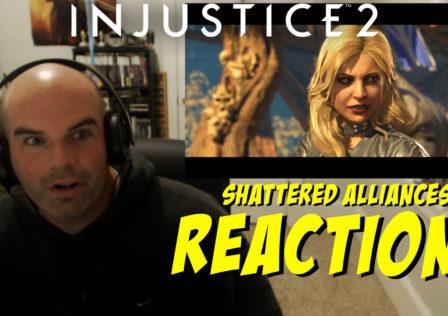 injustice 2 shattered alliances 4 reaction