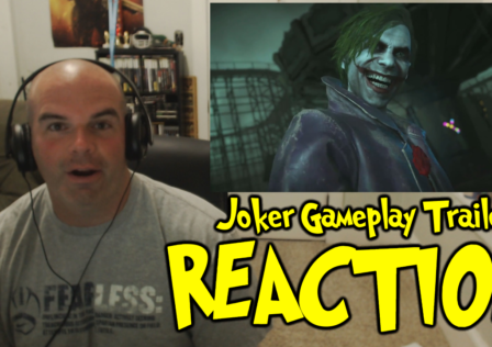joker injustice 2 gameplay trailer reaction